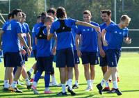 Entrenamiento del Real Oviedo (17-09)
