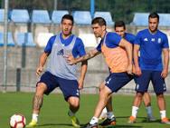 Entrenamiento del Real Oviedo (19/09/18)