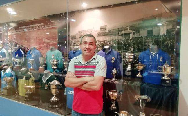 El accionista francés Edouard Rodríguez disfruta del Tartiere