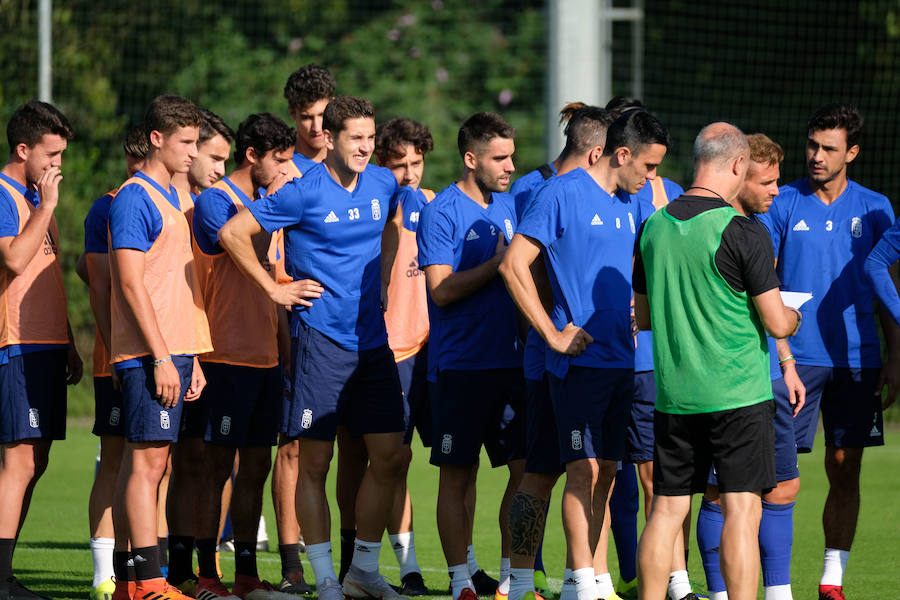 Entrenamiento del Real Oviedo (20-09)