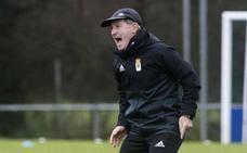 Anquela: «Vivo por y para el Real Oviedo y quiero ese respeto»