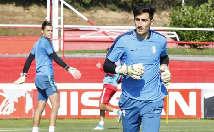 Entrenamiento del Sporting (20/09/17)