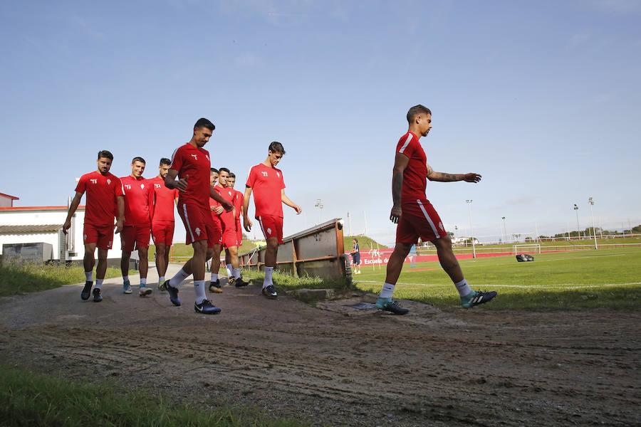 Entrenamiento del Sporting (29-9-17)