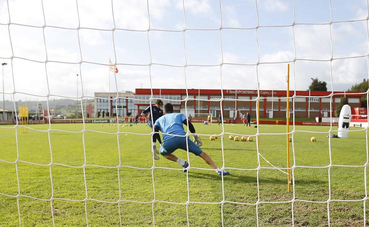 Entrenamiento del Sporting (13-11-17)