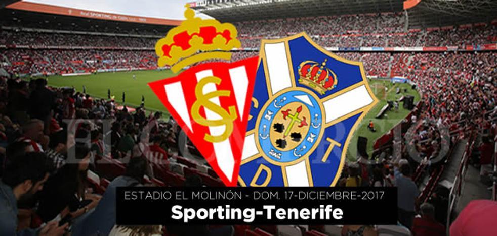 Ganadores de entradas para el Sporting-Tenerife