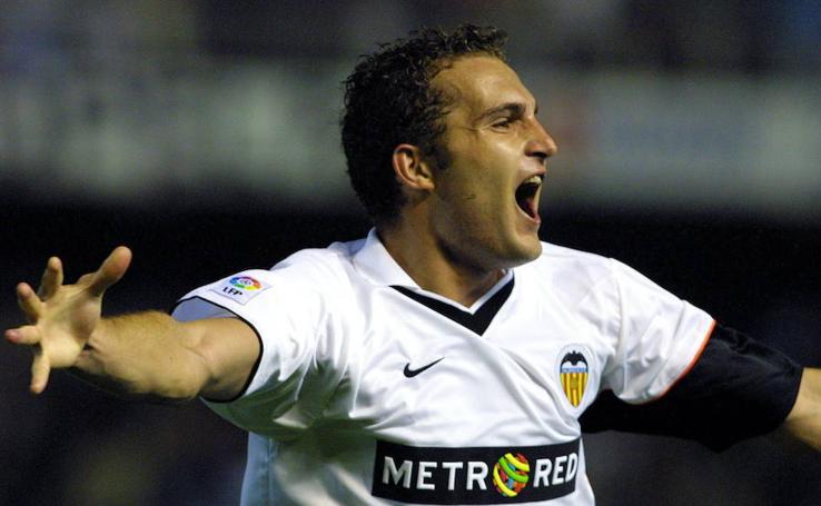 Rubén Baraja en su años como jugador internacional
