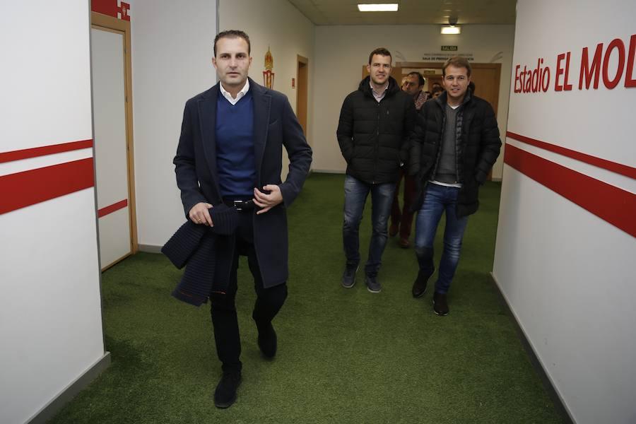 Presentación de Rubén Baraja como nuevo entrenador del Sporting