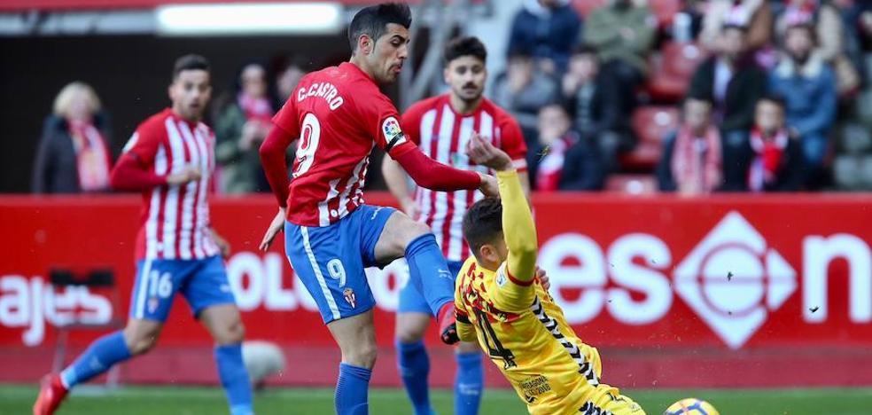 En directo: Sporting 2 - 0 Nàstic de Tarragona