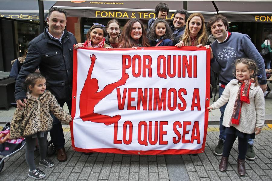 El homenaje de la Cultural a Quini en Gijón