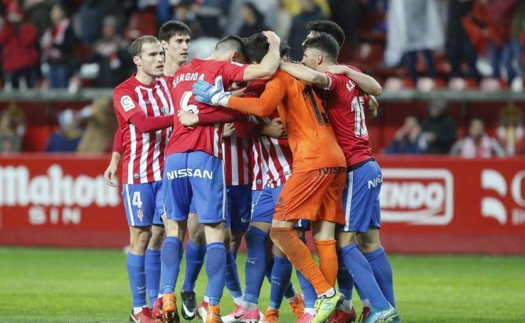 Sporting 1-0 Rayo Vallecano, en imágenes