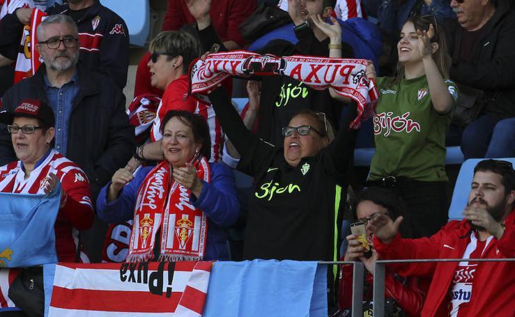 Las imágenes del partido Almería - Sporting
