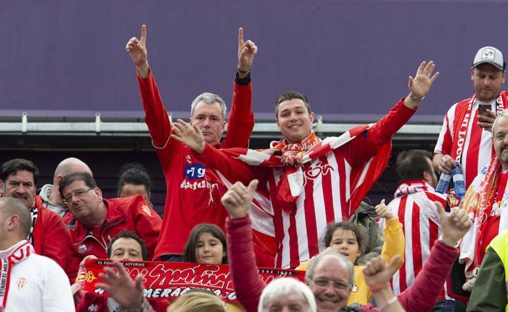 ¿Estuviste en el Valladolid-Sporting? ¡Búscate!