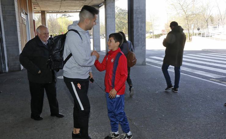 El Sporting pone rumbo a Valladolid