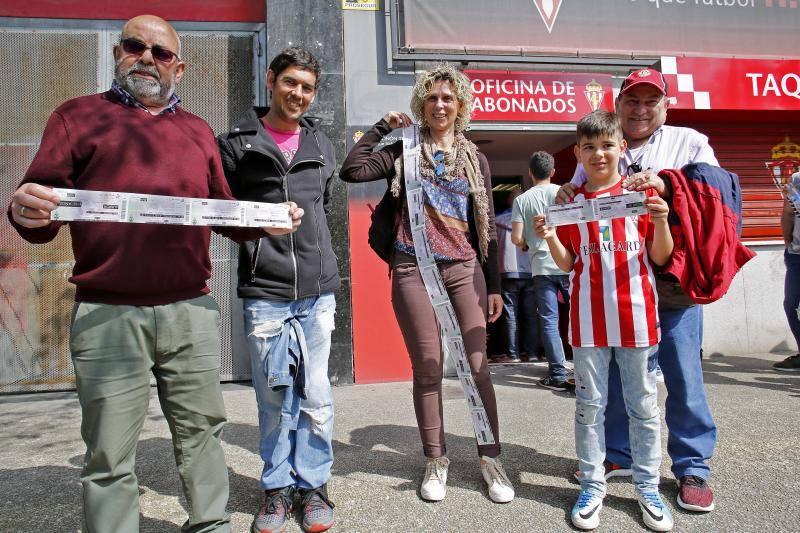 A la venta las entradas para el partido del Sporting ante el Barcelona B