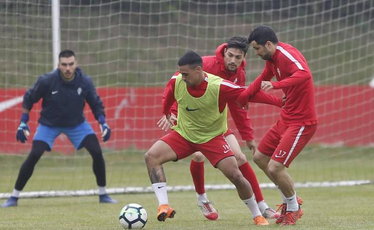 Entrenamiento Sporting (08-05-2018)
