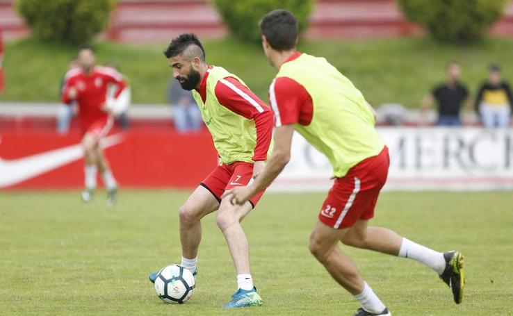 Entrenamiento del Sporting (30-05-2018)