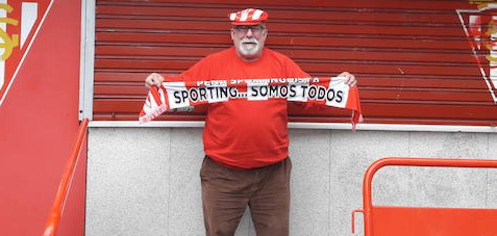 Más de 26 horas de espera para animar al Sporting en Valladolid
