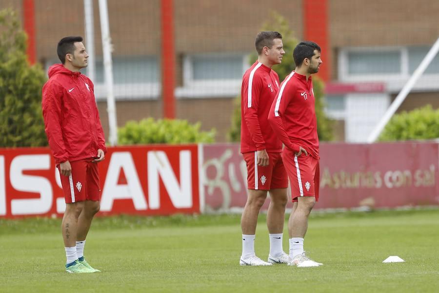 Entrenamiento del Sporting (05-06)