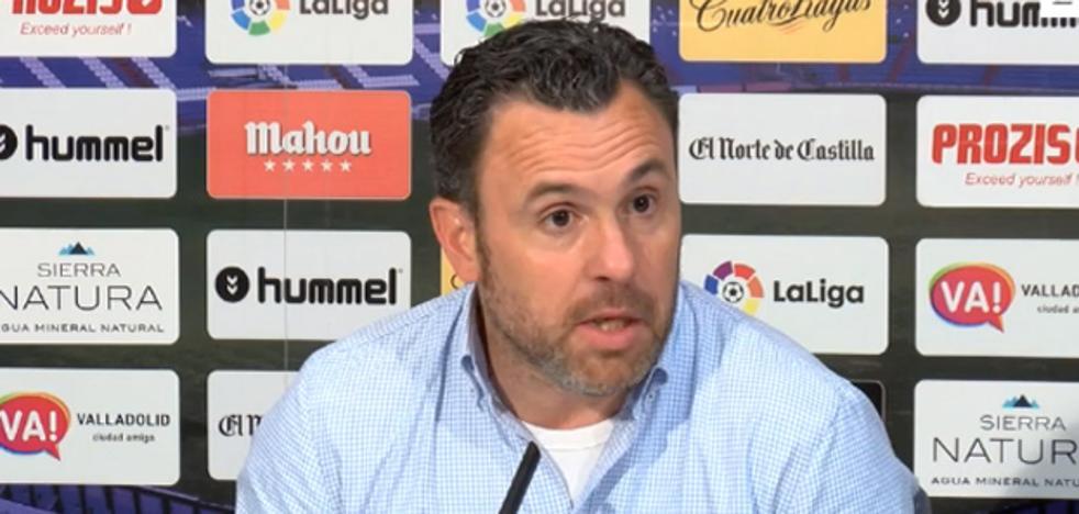 Sergio González: «Iremos a El Molinón a ganar el partido»