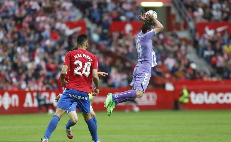 Las imágenes del Sporting - Valladolid