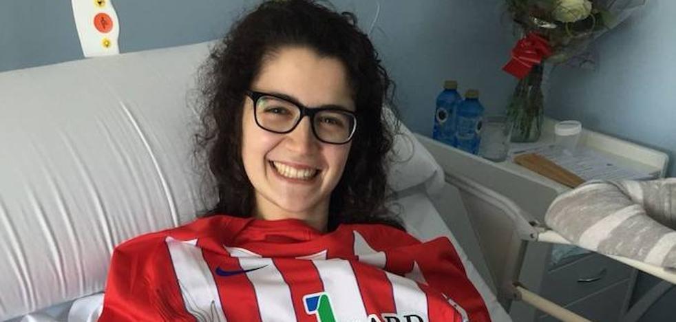 El Sporting arropa en su recuperación a la esgrimista Judith Rodríguez