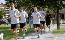Entrenamiento del Sporting (12-07-2018)