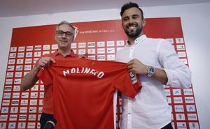 Molinero: «Espero aportar experiencia al equipo»