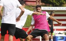 Entrenamiento del Sporting (14-7-18)