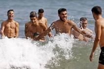 El Sporting se prepara en La Ñora y Mareo
