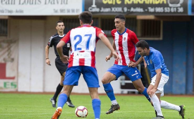 Sporting 1 - 1 Pontevedra, en imágenes
