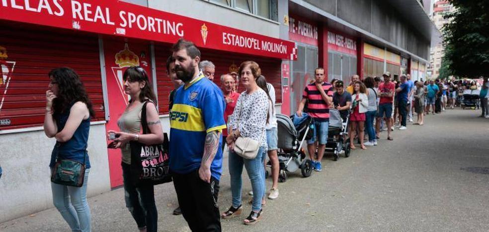 El Sporting, a por los 20.000 socios