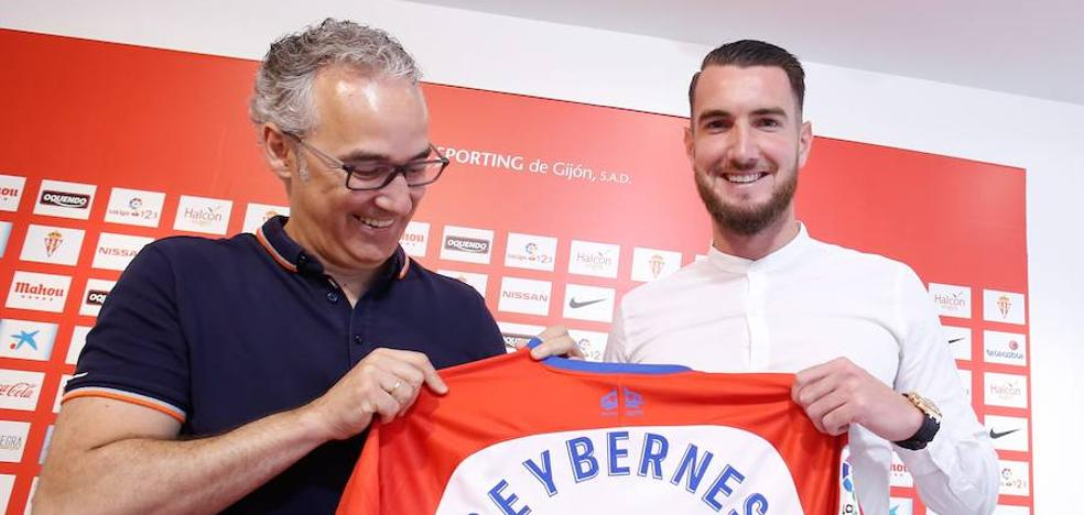 Peybernes: «Mi objetivo es el mismo que el del Sporting: regresar a Primera División»