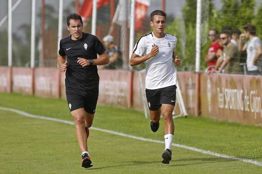 Entrenamiento del Sporting (06/080/18)