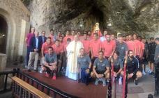 El Sporting visita Covadonga