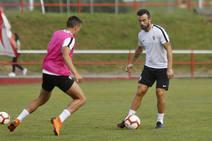 Entrenamiento del Sporting (07/08/18)