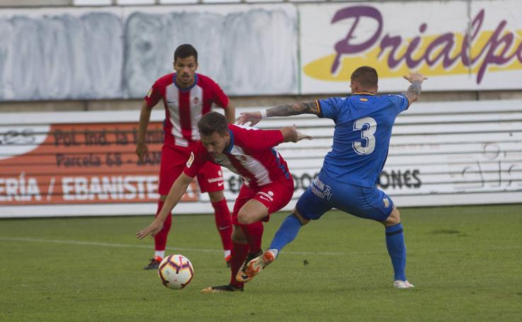 Sporting 0-0 Getafe, en imágenes