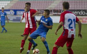 El Sporting resiste ante el Getafe