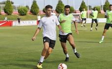 Entrenamiento del Sporting (10-08-2018)