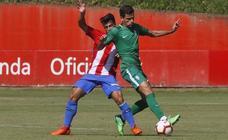 El Sporting B 0-1 Sporting, en imágenes