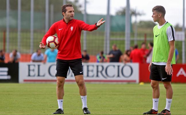 Sporting | «Llegamos bien al duelo en Alcorcón»