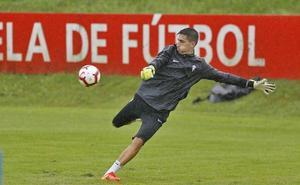 «Para moverme del Sporting tendría que haber una propuesta muy importante», asegura Mariño