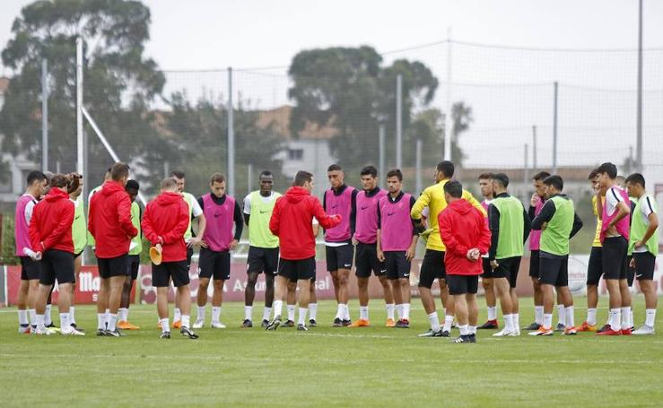 Entrenamiento del Sporting (17-08-2018)