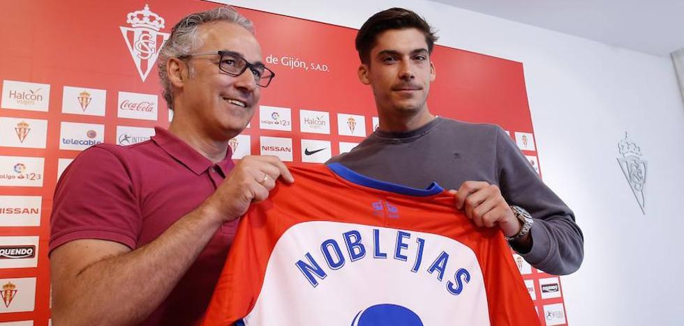 Javi Noblejas: «Vengo a trabajar, aportar y jugar lo mejor que pueda»