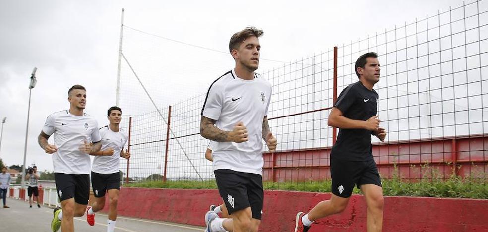 Álvaro Jiménez ya es jugador del Sporting
