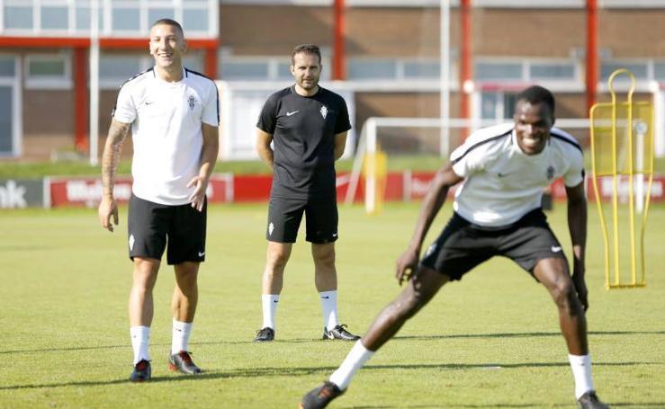 Entrenamiento Sporting (01-09-2018)