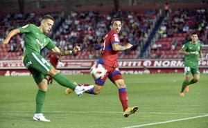 El Sporting, adelante en la Copa (Numancia 1 - 2 Sporting)