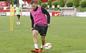 Robin Lod ya se entrena con el Sporting