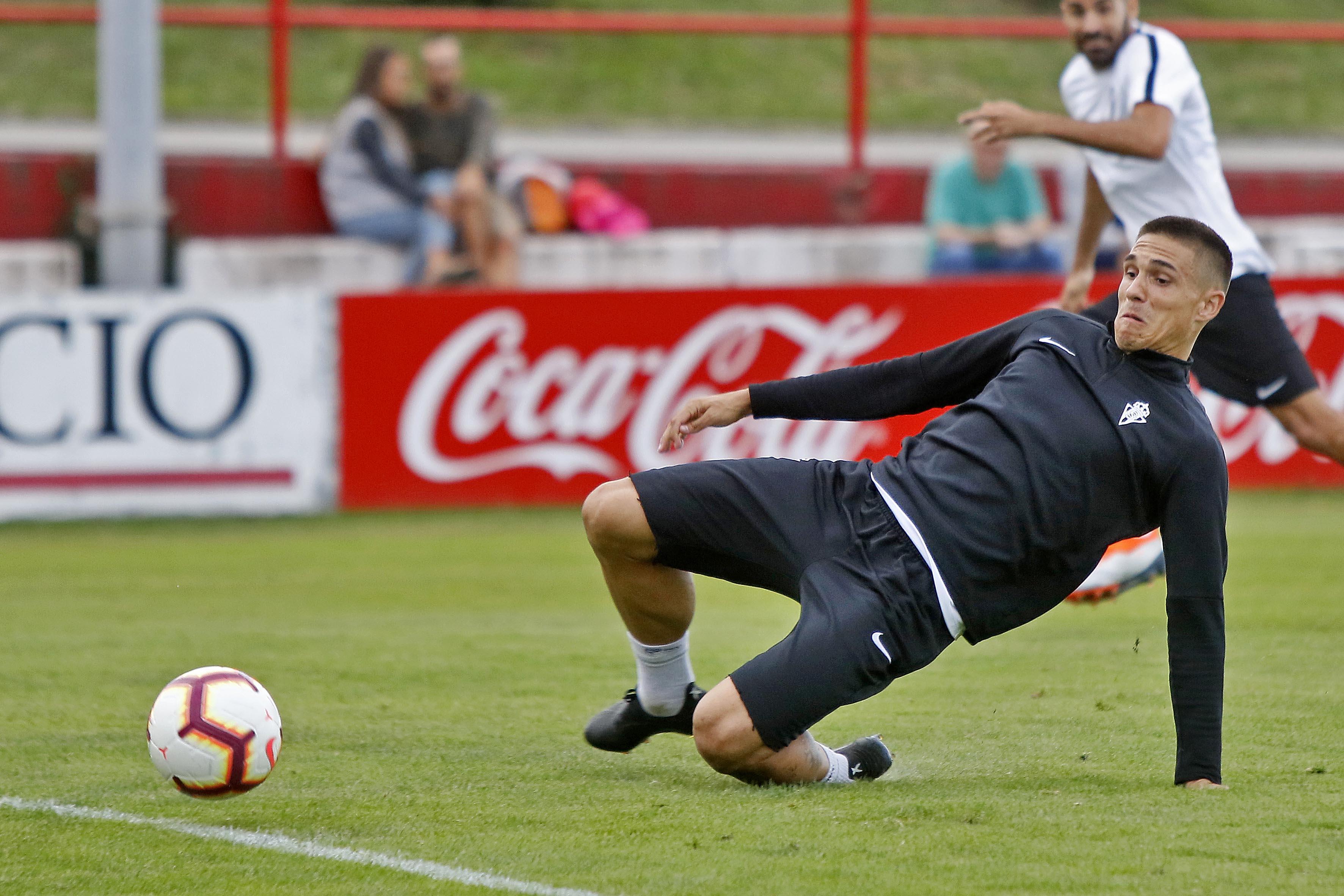 Entrenamiento del Sporting (14-09)
