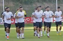 Entrenamiento del Sporting (15/09/18)
