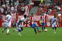 Sporting 1-1 Numancia, en imágenes